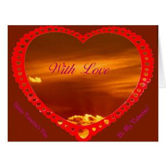 Saint Valentine s Day greeting card