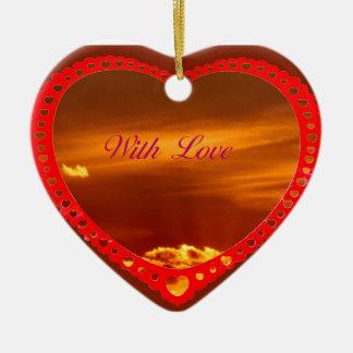 Saint Valentine s Day Heart Ornament