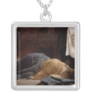 Saint Veronica Silver Plated Necklace