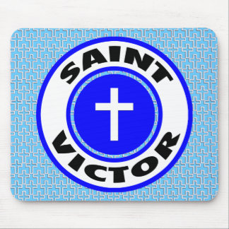 Saint Victor Mouse Pad