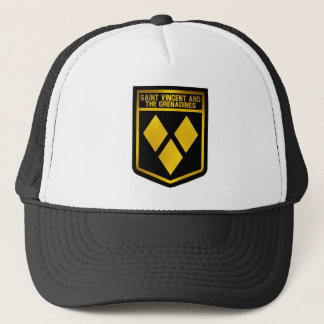 Saint Vincent and the Grenadines Emblem Trucker Hat