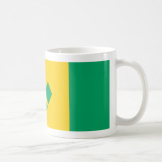 Saint Vincent And The Grenadines Flag Coffee Mug