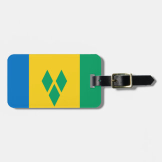 Saint Vincent and the Grenadines Flag Luggage Tag