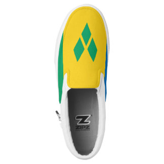 Saint Vincent and the Grenadines Flag Slip On Shoes