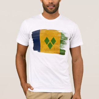 Saint Vincent and the Grenadines Flag T-Shirt