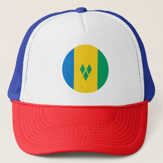 Saint Vincent and the Grenadines Flag Trucker Hat