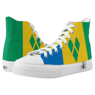 Saint Vincent and the Grenadines Printed Shoes