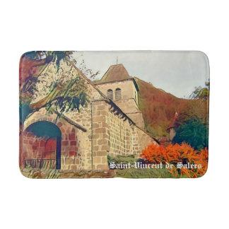 Saint-Vincent de Salers - Cantal - France Bath Mat