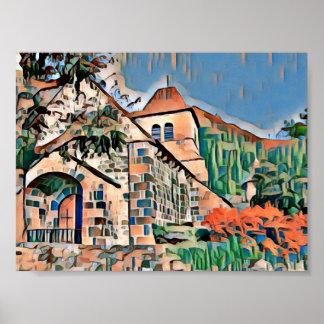 Saint-Vincent favela Poster