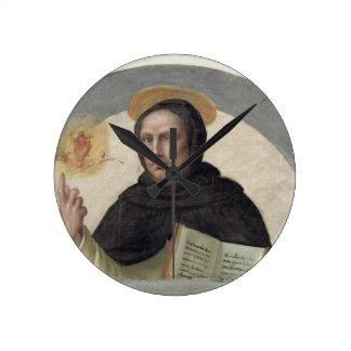Saint Vincent Ferrer (fresco) Round Clock