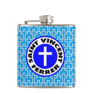 Saint Vincent Ferrer Hip Flask