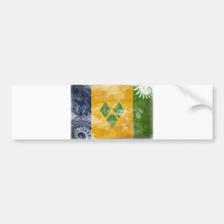 Saint Vincent Flag Bumper Sticker