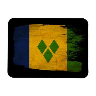 Saint Vincent Flag Rectangular Photo Magnet