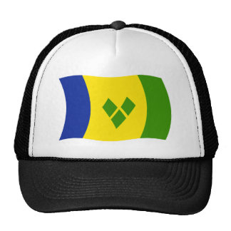 Saint Vincent Grenadines Flag Hat