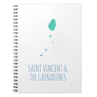 Saint Vincent & the Grenadines Notebook