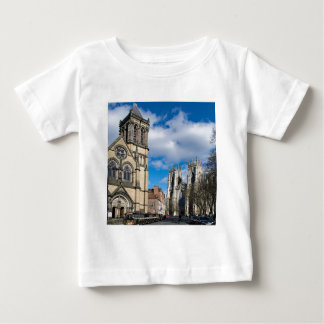 Saint Wilfrids and York Minster. Baby T-Shirt