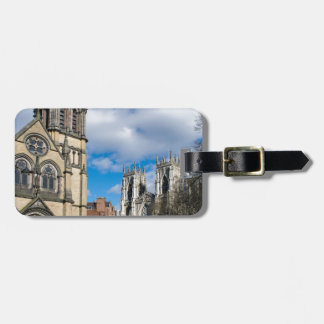 Saint Wilfrids and York Minster. Luggage Tag