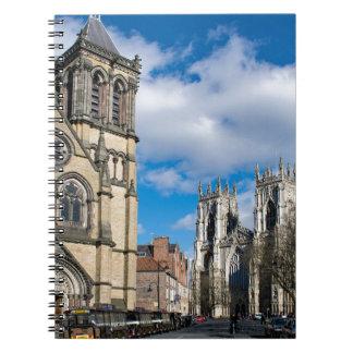 Saint Wilfrids and York Minster. Notebook