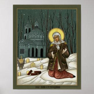 Saint Xenia of St. Petersburg Poster