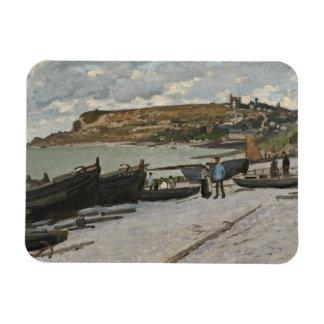Sainte-Adresse, 1867 (oil on canvas) Rectangular Photo Magnet