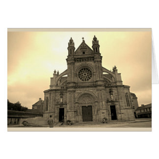 Sainte Anne d'Auray church Card