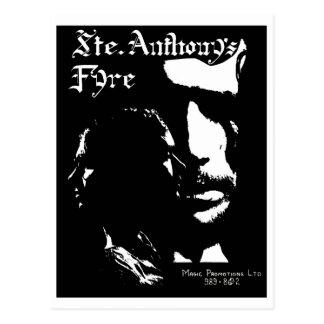 Sainte Anthony's Fyre Band - 1970 Postcard