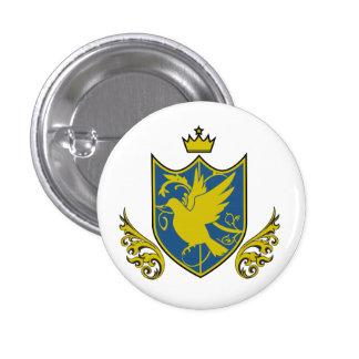 Saintly pijiyoneishiyon - St PigeoNation s Pinback Button