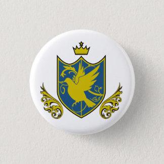Saintly pijiyoneishiyon - St.PigeoNation's 3 Cm Round Badge