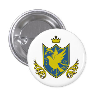 Saintly pijiyoneishiyon - St.PigeoNation's Pinback Button
