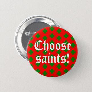 Saints_Aplenty Slogan (Christmas Edition #2) 6 Cm Round Badge