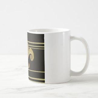 Saints Black and Gold Fleur de lis Mug