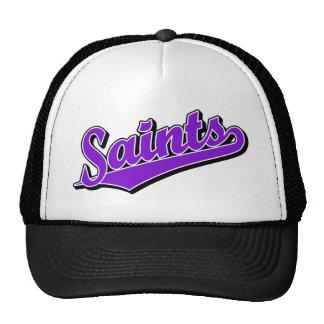Saints in Purple Trucker Hat