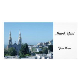 Saints Peter and Paul Church Custom Photo Card