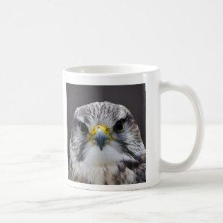 Saker falcon coffee mug
