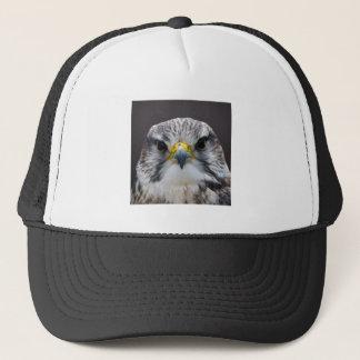 Saker falcon trucker hat