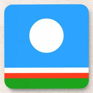 Sakha Republic Flag Coaster