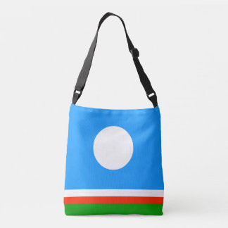 Sakha Republic Flag Crossbody Bag