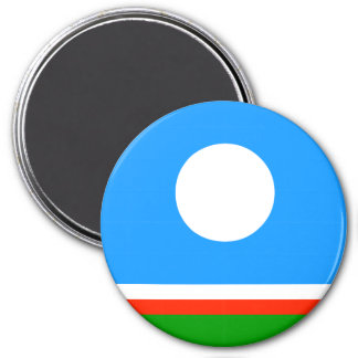 Sakha Republic Flag Magnet