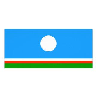 Sakha Republic Flag Rack Card