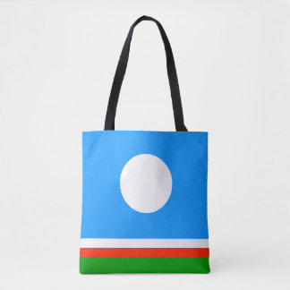 Sakha Republic Flag Tote Bag