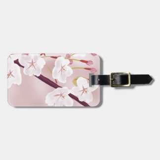 sakura-a luggage tag