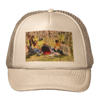 Sakura - Afternoon Picnic Trucker Hat
