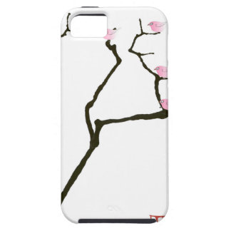 sakura and 7 pink birds 1, tony fernandes iPhone 5 case