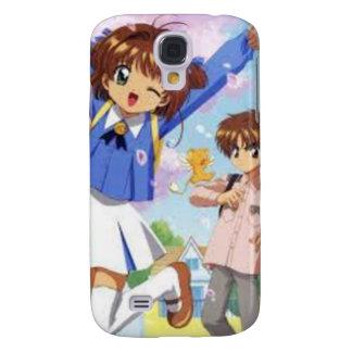 Sakura and Syaoran Samsung Galaxy S4 Cases