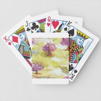 sakura bicycle playing cards