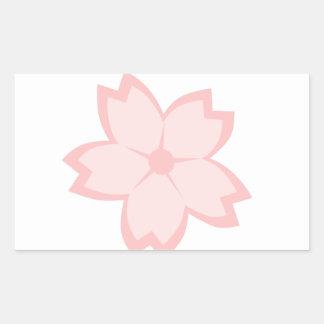 Sakura Bloom Rectangular Sticker