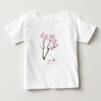 sakura bloom white eye bird, tony fernandes baby T-Shirt