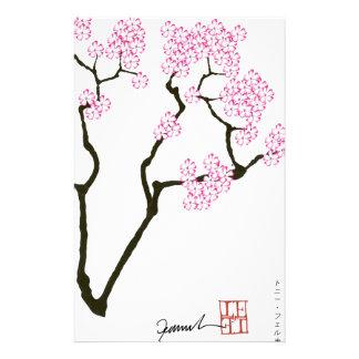 sakura bloom white eye bird, tony fernandes stationery