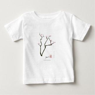 sakura blossom and pink birds, tony fernandes baby T-Shirt