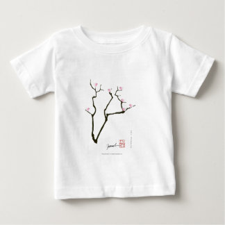 sakura blossom and pink birds, tony fernandes baby T-Shirt
